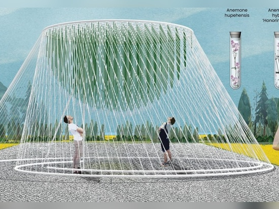 """""""ENTWINE"""" by Waiyee Chou, Landscape Architect; and Carlos Portillo, Landscape Architect 