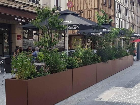 STEELAB SPA Metal sheet planters