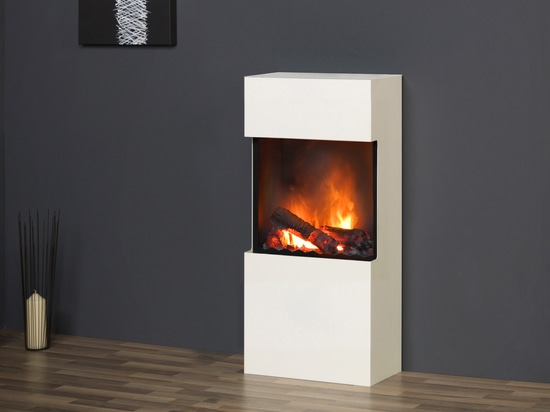 muenkel design flip [free-standing or wall-mounted electric / ethanol fireplace]