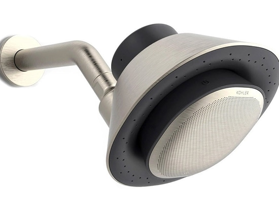Kohler Accompanies You with a Showerhead Smart Speaker Combo