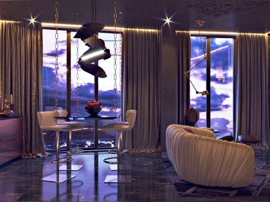 An Imposing Feminine Penthouse