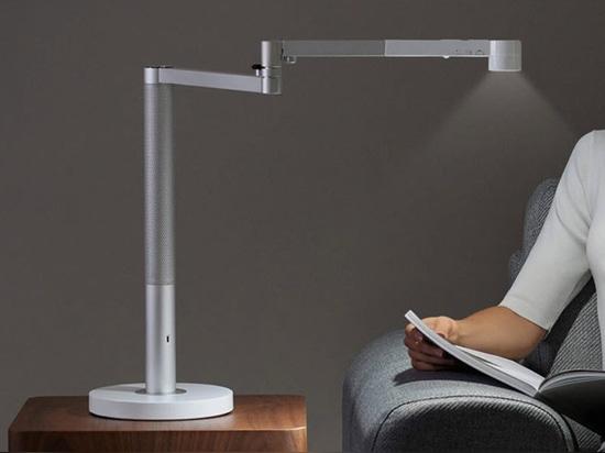 The Dyson Lightcycle Morph Lamp Perfectly Illuminates