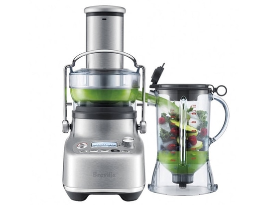 The Breville 3X Bluicer Pro Aims to Improve Health and Stop Hunger