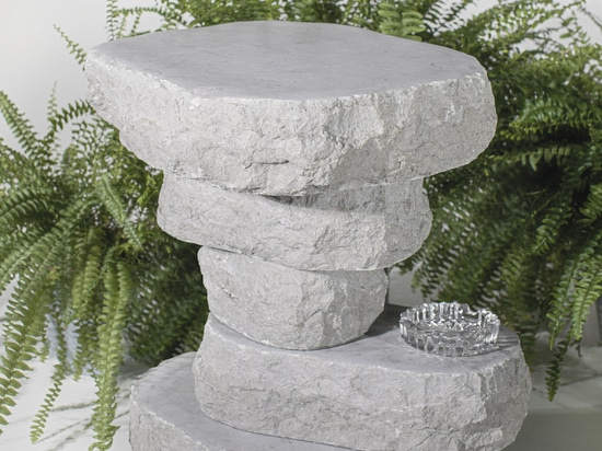 Sandra Jõesaar's Boulder Table comprises five limestone slabs