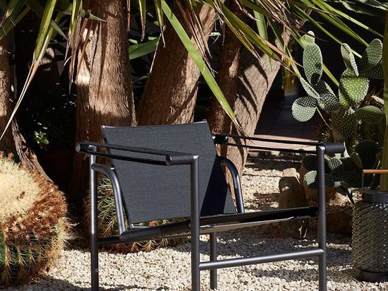 Outdoor LC collection by Le Corbusier, Pierre Jeanneret and Charlotte Perriand
