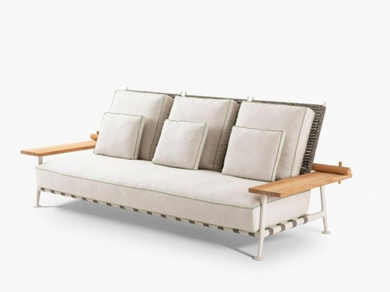 Fenc E Nature sofa by Philippe Starck for Cassina