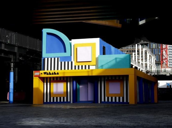Lego enlists Camille Walala for interactive shipping container in London