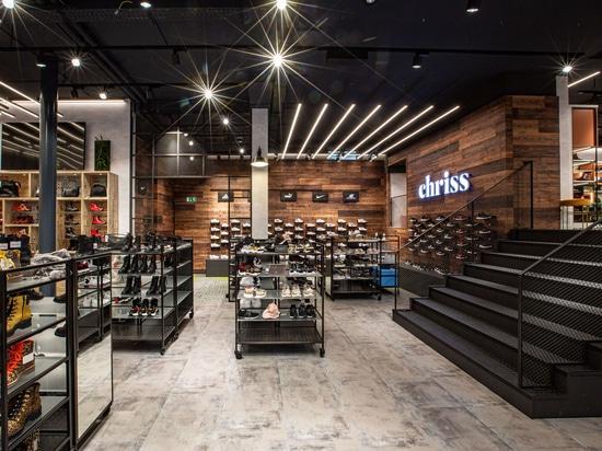 Shoe Store Chriss in SUN WOOD decor TYROL 01