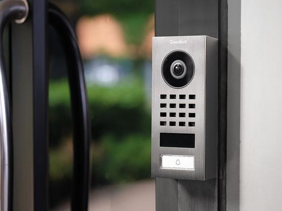 DoorBird D1101V Flush-mount IP video intercom