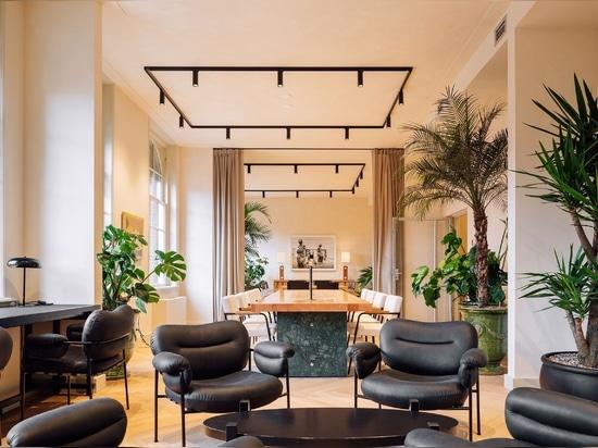 Fosbury & Sons Transform a Landmark Building in Amsterdam into Contemporary Coworking Spaces