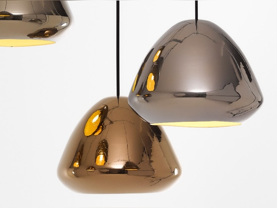 Ross Gardam Designs Glaze Metallic Collection Of Pendant Lamps