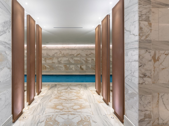 Exclusive interior design with HAVER Architectural Mesh.