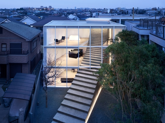 Nendo-designed 'Stairway House' offers connected living for three generations