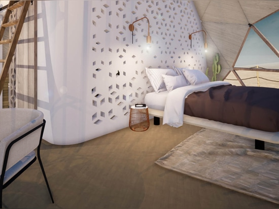 FUGU Hospitality Offers Modular Geodesic Cabins for Hotels