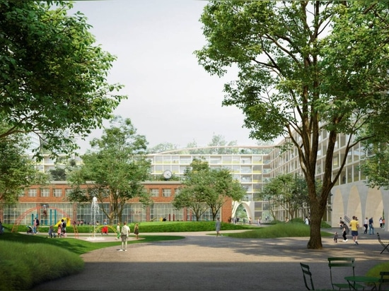 David Chipperfield Architects wins competetition for Georg-Knorr-Park