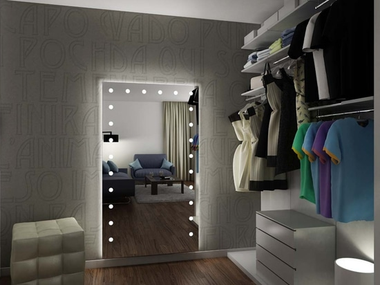 UNICA lighted mirrors