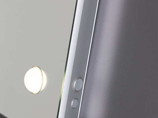 lighted mirror with backlight