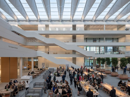This Foster + Partners-designed building has been turned into a coronavirus clinic