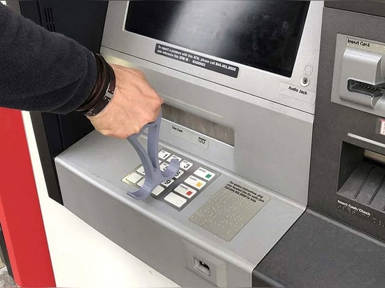 The tool can help you press ATM buttons
