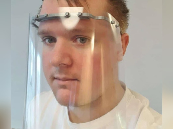 Bjarke Ingels Group and more architects 3D print face shields for coronavirus medical staff
