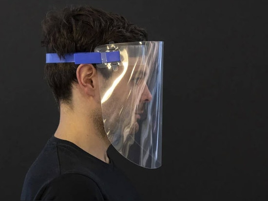 Foster + Partners shares template for a reusable face visor to aid the fight against COVID-19