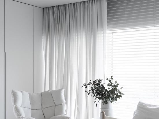 A duo of apartments in Moldova showcase contrasting interior design