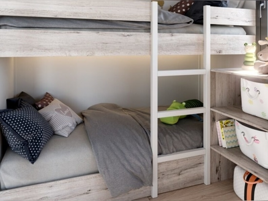 Modular tiny home on wheels can fit a family of 6