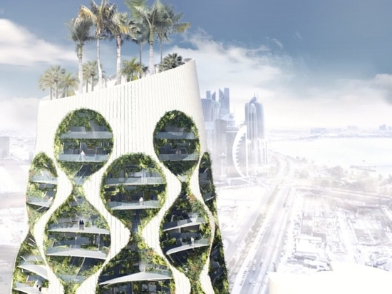 Architects envision a green, solar-powered skyscraper