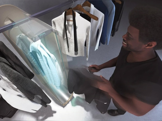 Pura-Case by Carlo Ratti uses ozone to purify clothes