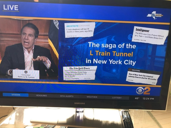 Cuomo took a not-so-subtle swing at naysayers during the press conference.
