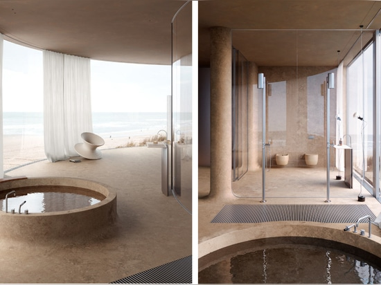 Concept Design: Hotel on the Beach by Sivak+Partners