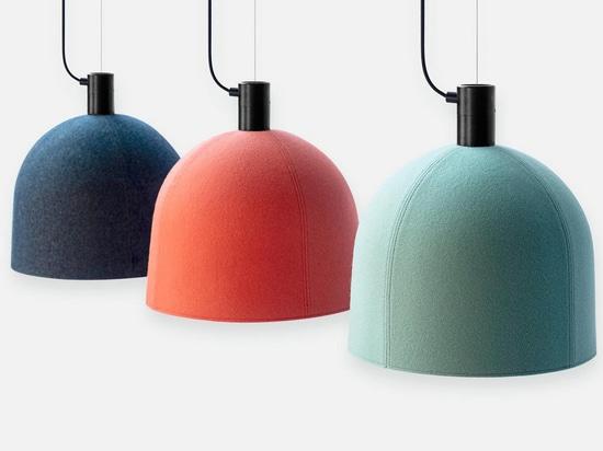 Luxxbox Designs Robust Helm Hush Acoustic Pendant Lighting