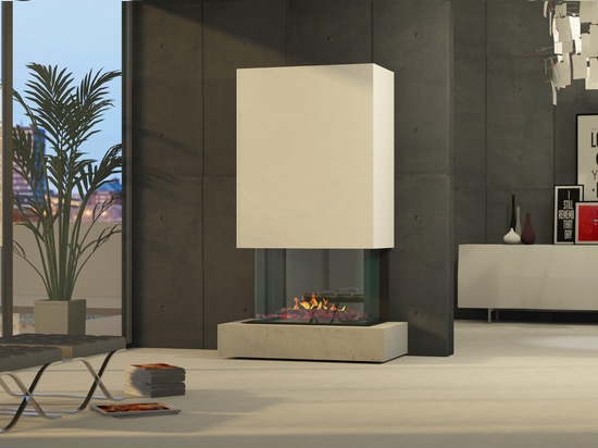 muenkel design Torino [electric fireplace Opti-myst]