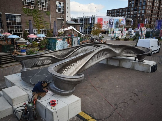 World's First 3D-Printed Metal Bridge