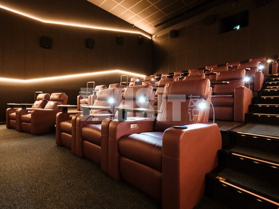 Usit Seating UV-837A in theater of Vladikavkaz, Russia