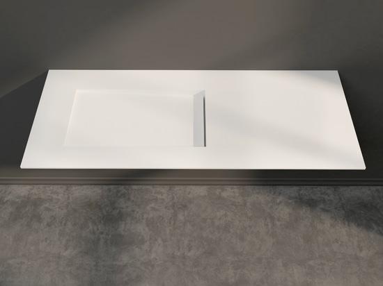 Canada Corian® Glacier White Vanity Top