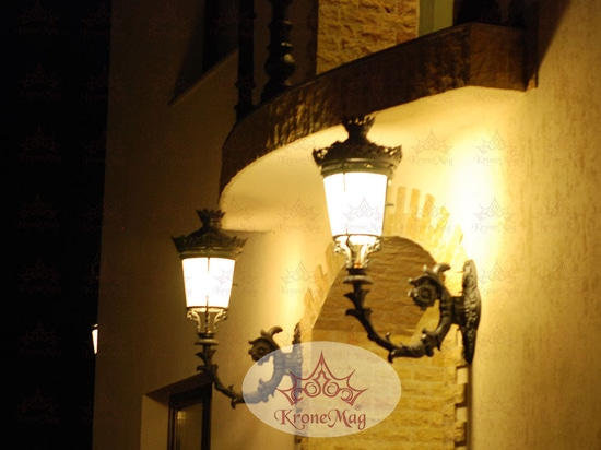 Vintage style wall lamps by KroneMag