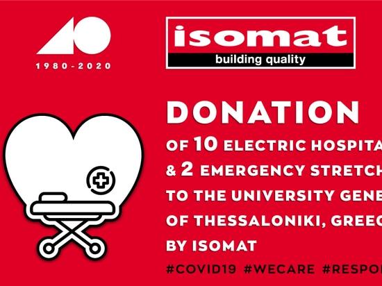 ISOMAT DONATION/ Covid-19