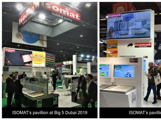 ISOMAT participated in BATIMAT, Big 5 Dubai and the National Painting and Decorating Show