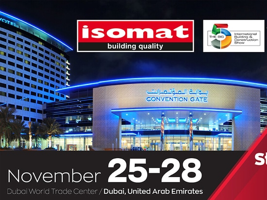 ISOMAT at Big5 Dubai 2019