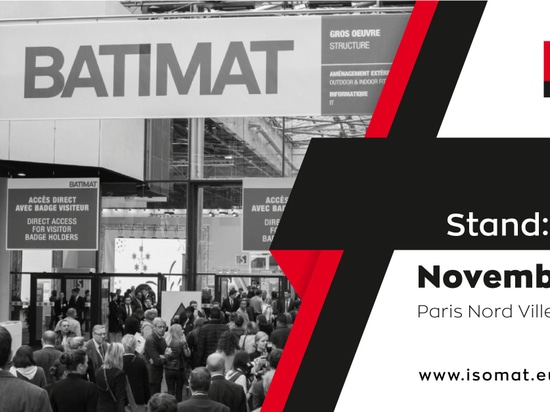 ISOMAT at BATIMAT 2019