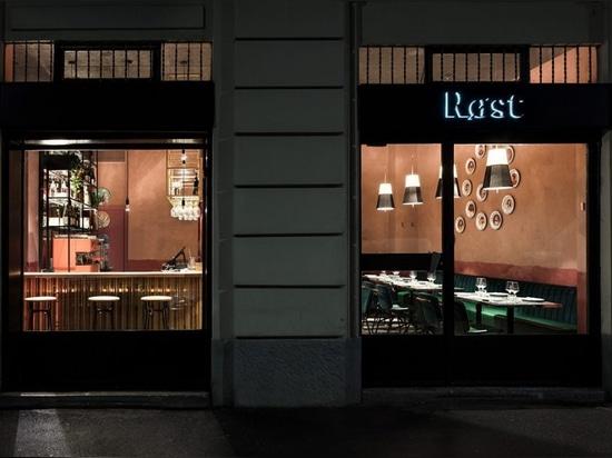 Røst restaurant in Milan.