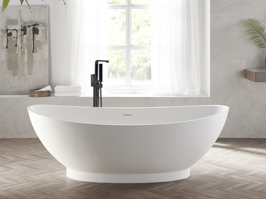 Annecy Freestanding Solid Surface Bathtub