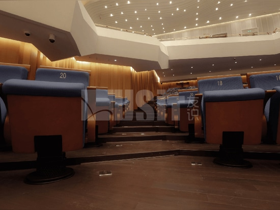 """Uist Seating in the """"Belt and Road"""" Concert Hall of Chengdu, China"""