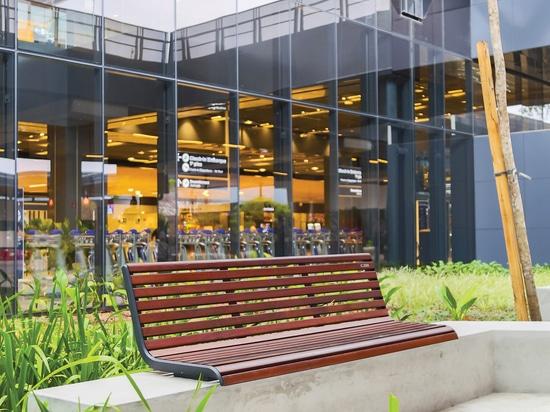 Brazilian modernism in public space