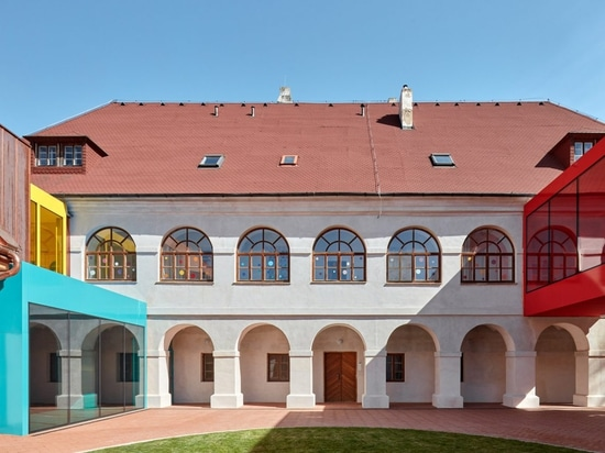 Public Atelier and FUUZE transform rectory into colourful school