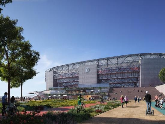 OMA unveils Feyenoord Stadium design