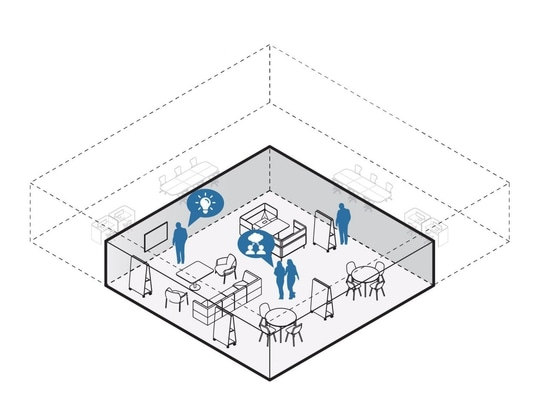The Culture Club layout imagines the office as a place for only meetings