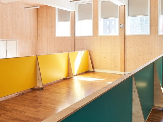UNIT Fabrications builds social-distancing furniture for London primary school