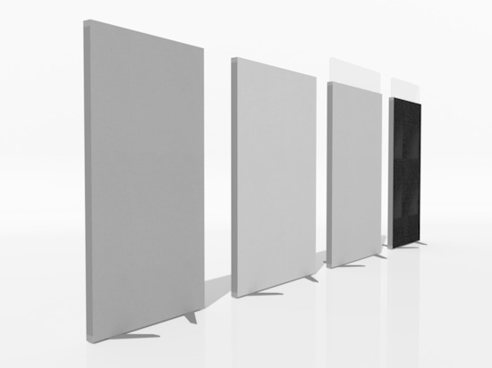 acoustic protection screen EKOE DECO for office